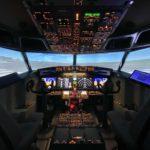 737コックピット外観